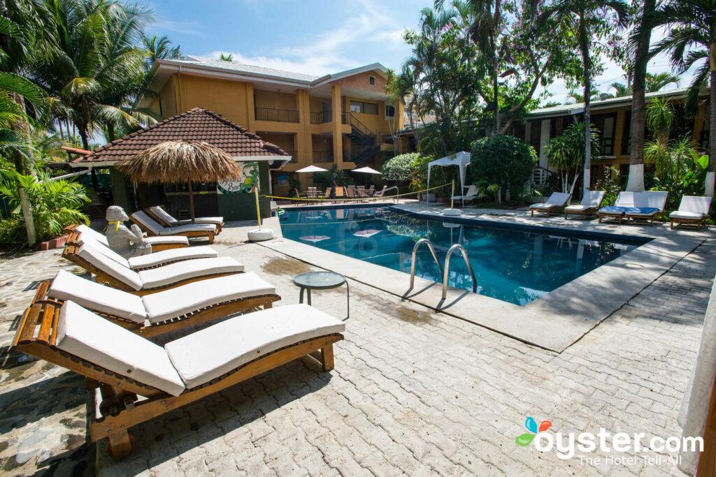 Pool a at Copacabana Hotel & Suites, Jaco, Costa Rica