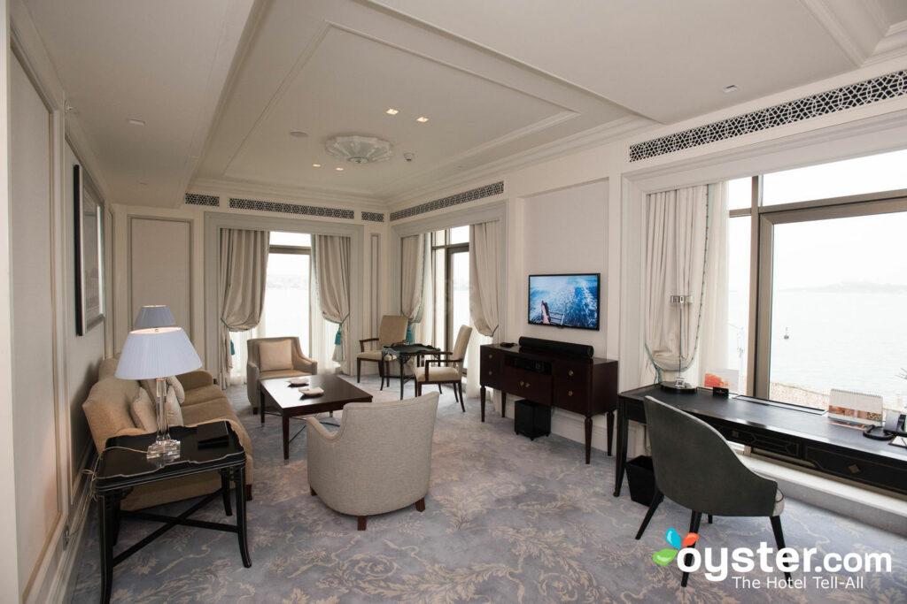 Deluxe Bosphorus Suite im Shangri-La Bosphorus, Istanbul