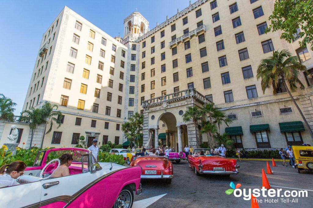 Entrance at the Hotel Nacional de Cuba