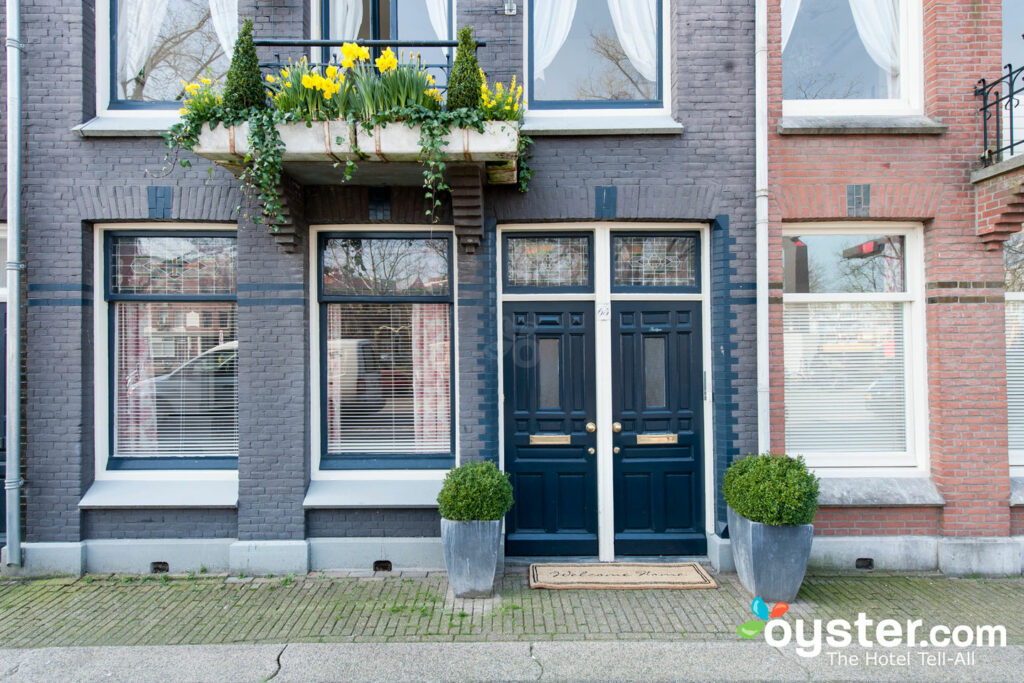 Bed and Breakfast Amsterdam a seulement trois chambres.