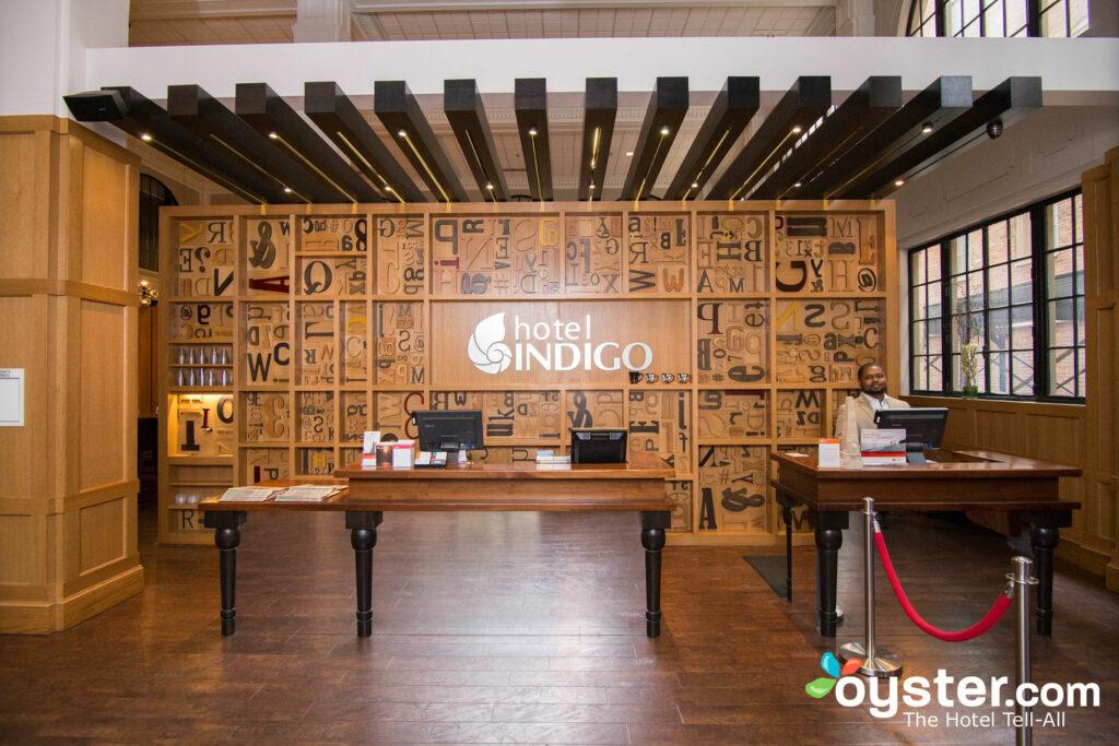 Front Desk at the Hotel Indigo Nashville