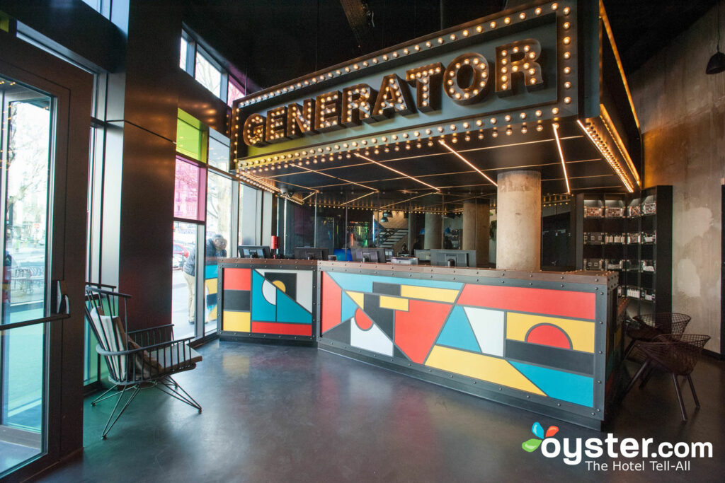 It's a theater of pure design at the Generator Paris.
