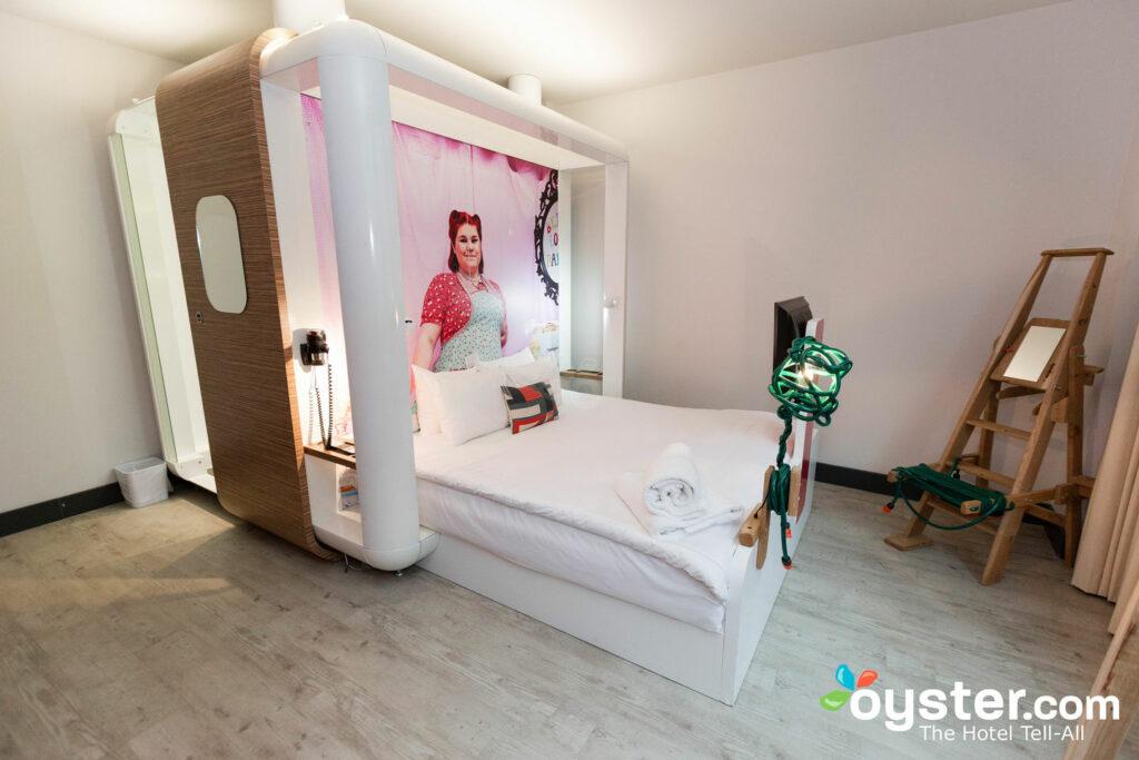 Fun Room at Qbic Hotel London City