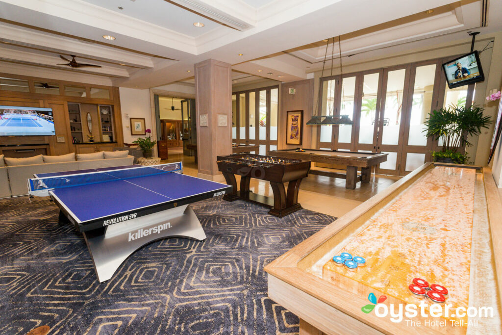 Game Room at the Four Seasons Resort Maui at Wailea