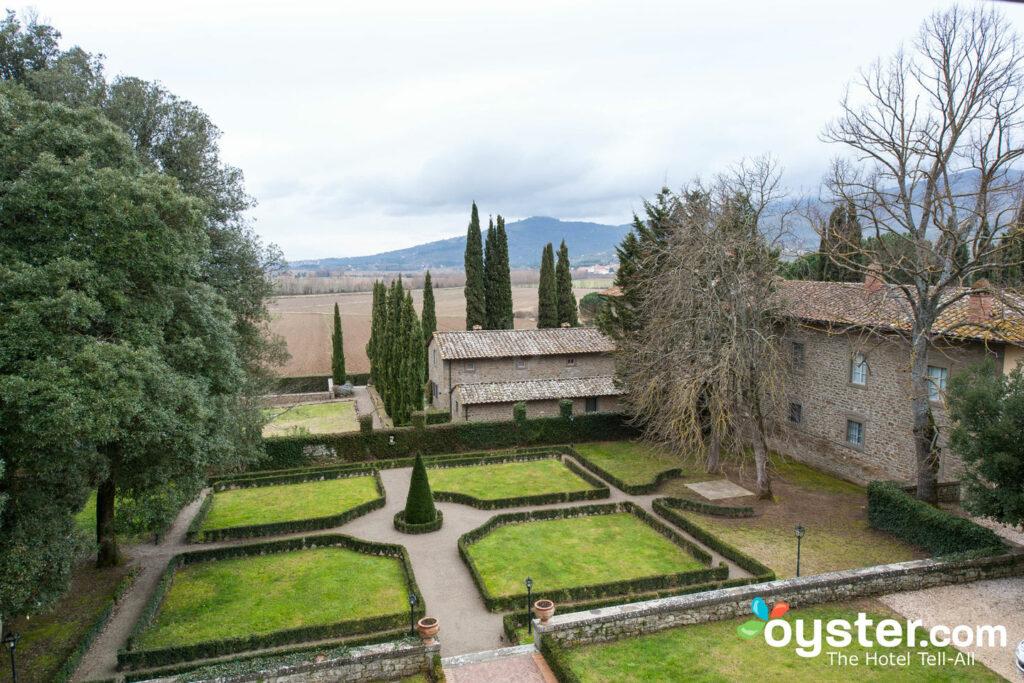 The view from Villa di Piazzano.