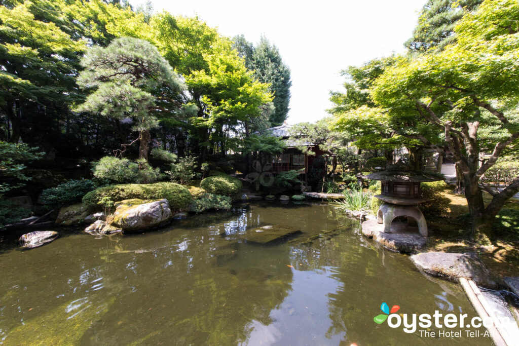 Jardín en Kyoto Heian Hotel