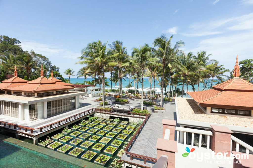 Grounds at the Trisara Phuket