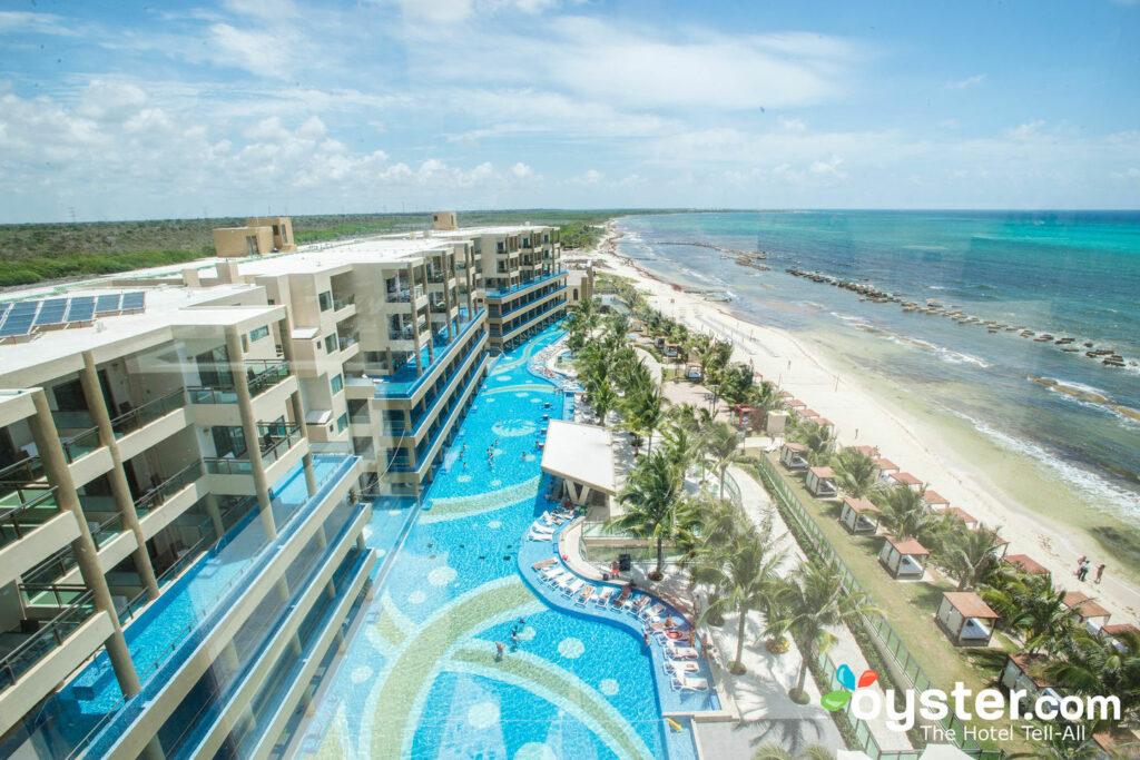 Pool and beach at Generations Riviera Maya by Karisma