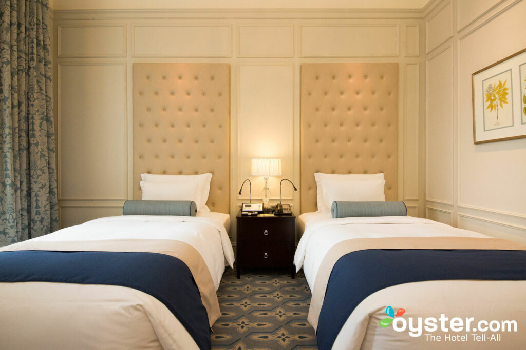 The Junior Suite at The Tokyo Station Hotel/Oyster