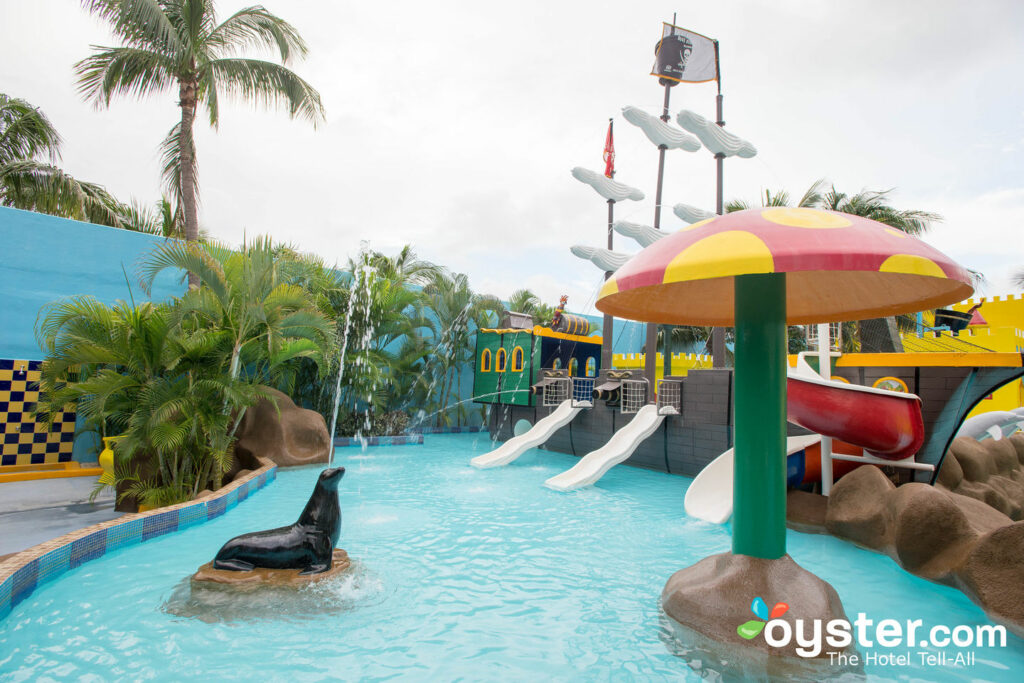 Water park at Crown Paradise Club Cancun