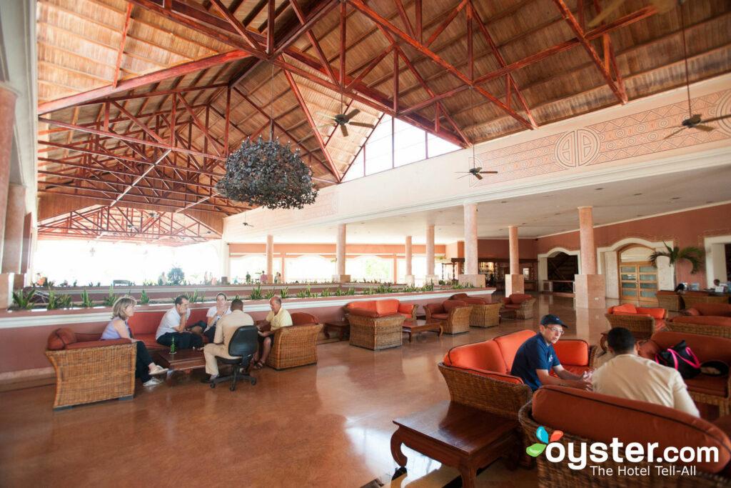 lobby at Dreams Punta Cana Resort & Spa
