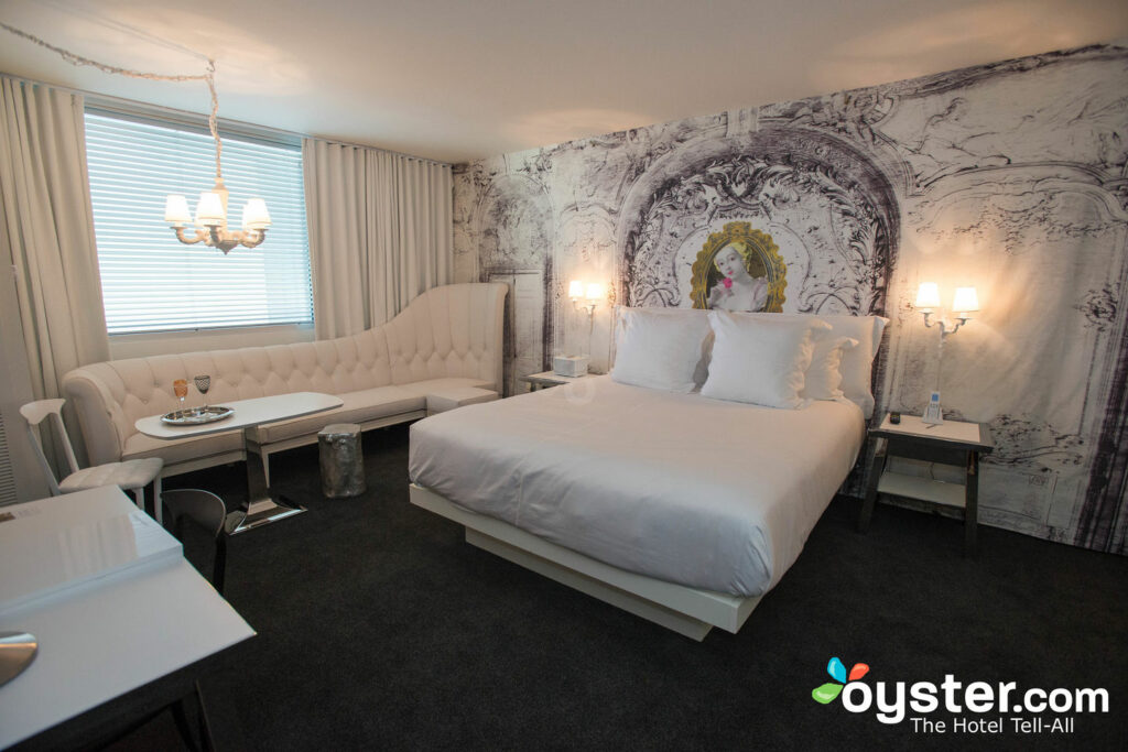 The SLS Las Vegas is one of Jetsetter's favorite hotels for getting it on.