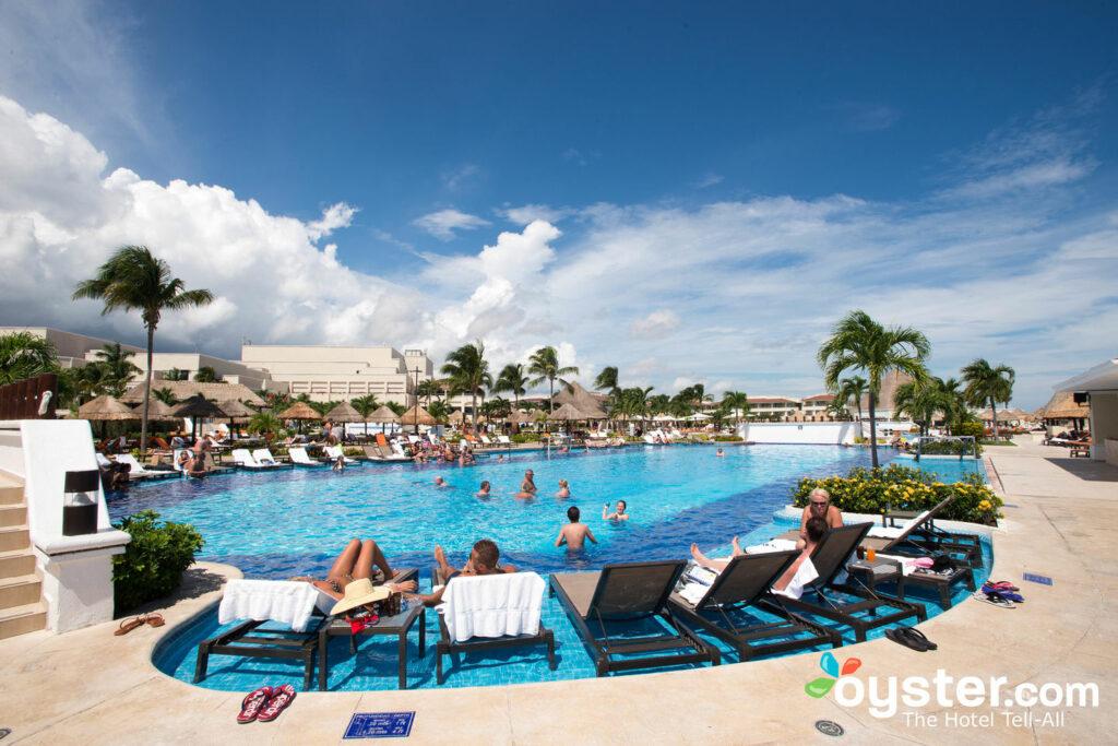 Pool at Moon Palace Golf & Spa Resort