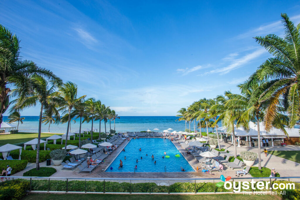 Pool at Hilton Rose Hall Resort and Spa, An All Inclusive Resort in Jamaica