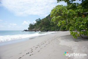 A tranquil beach in Costa Rica, considered one of Latin America's safest locales