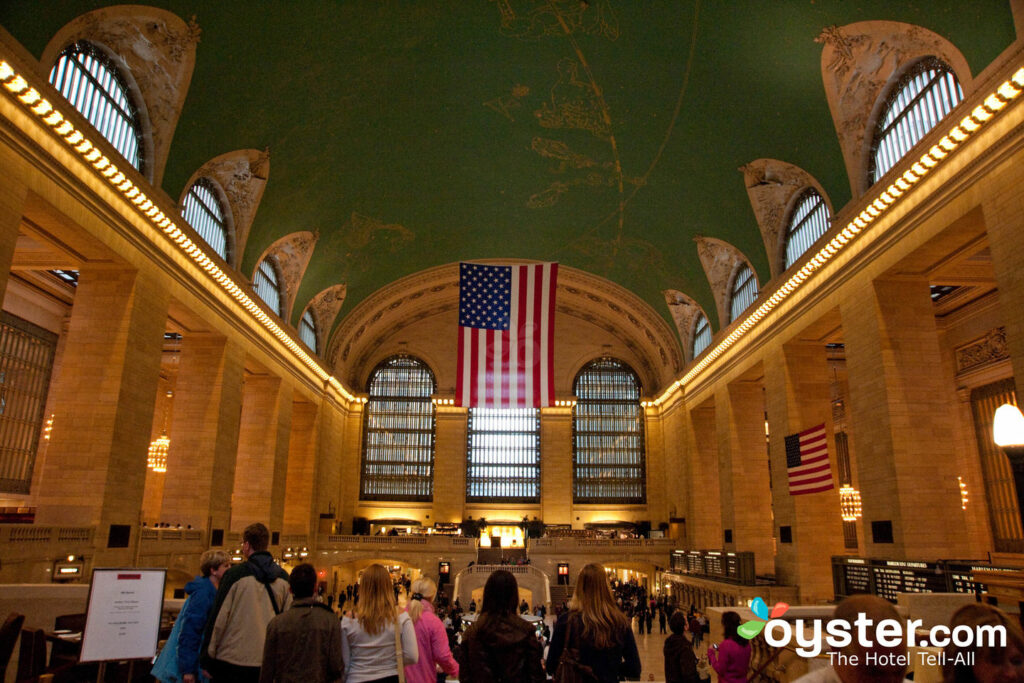 Grand Central Terminal in  Midtown East.