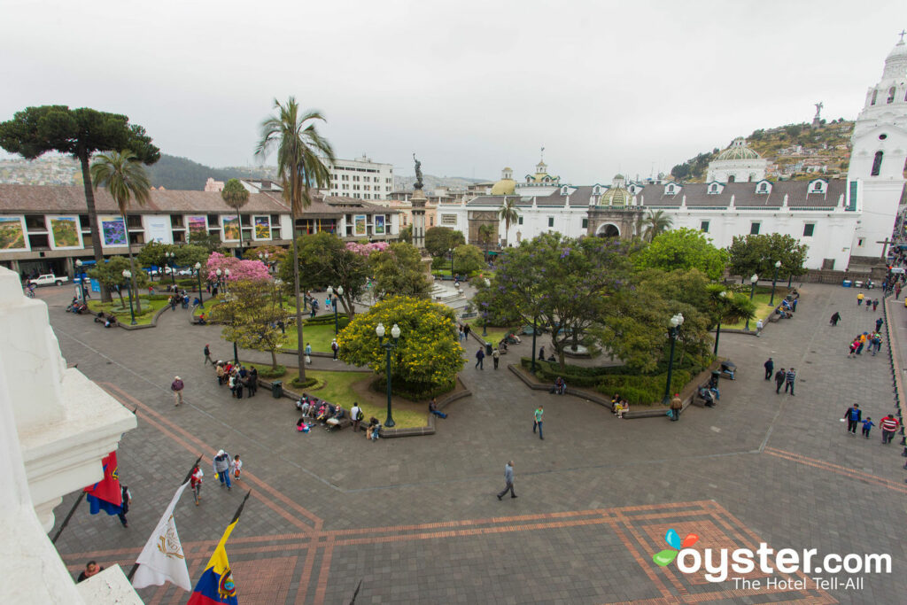 The Plaza View at Hotel Plaza Grande, Quito/Oyster