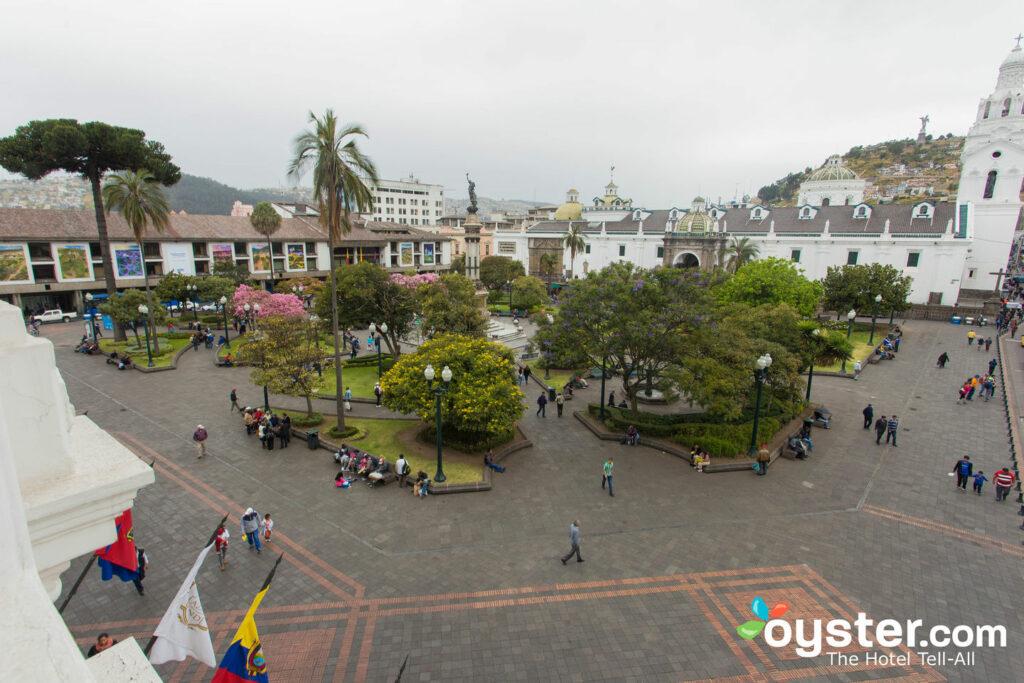La Plaza View à l' Hôtel Plaza Grande, Quito / Oyster