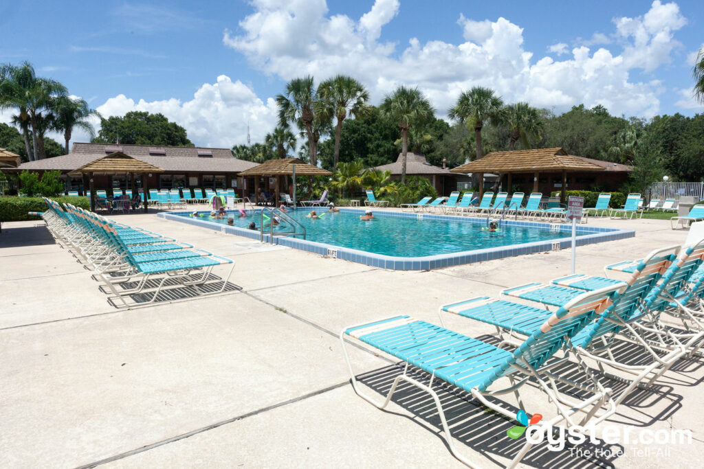 Pool at Cypress Cove Nudist Resort