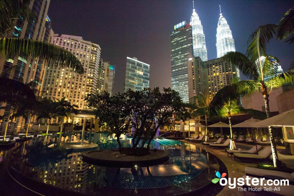 Piscine au Grand Hyatt Kuala Lumpur