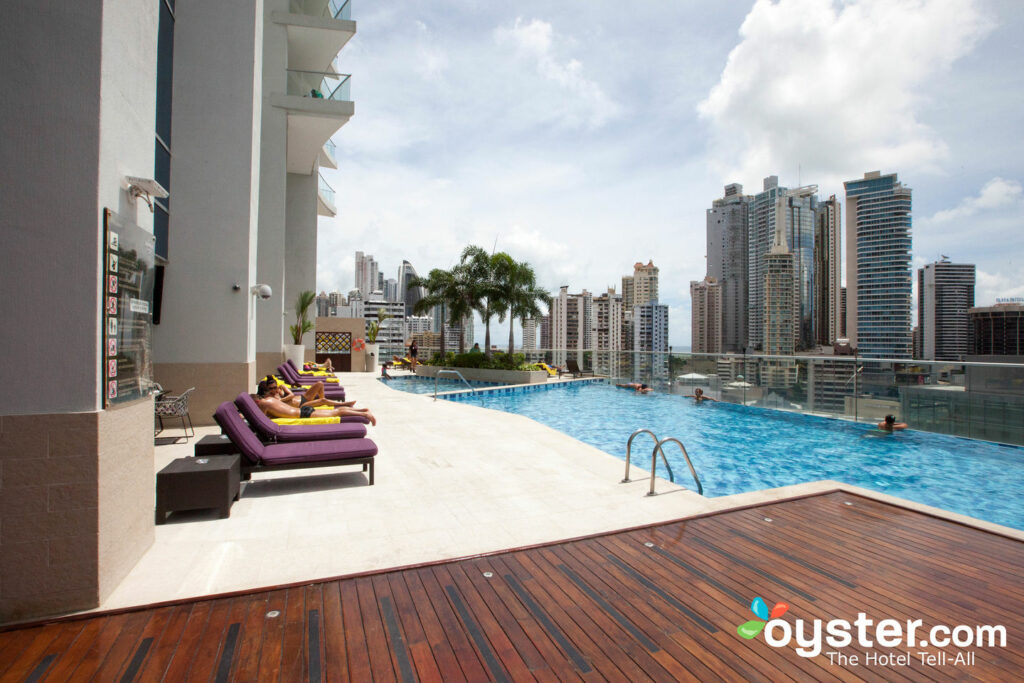 Pool at the Hard Rock Hotel Panama Megapolis in Panama City