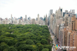 Central Park view from Mandarin Oriental, New York/Oyster