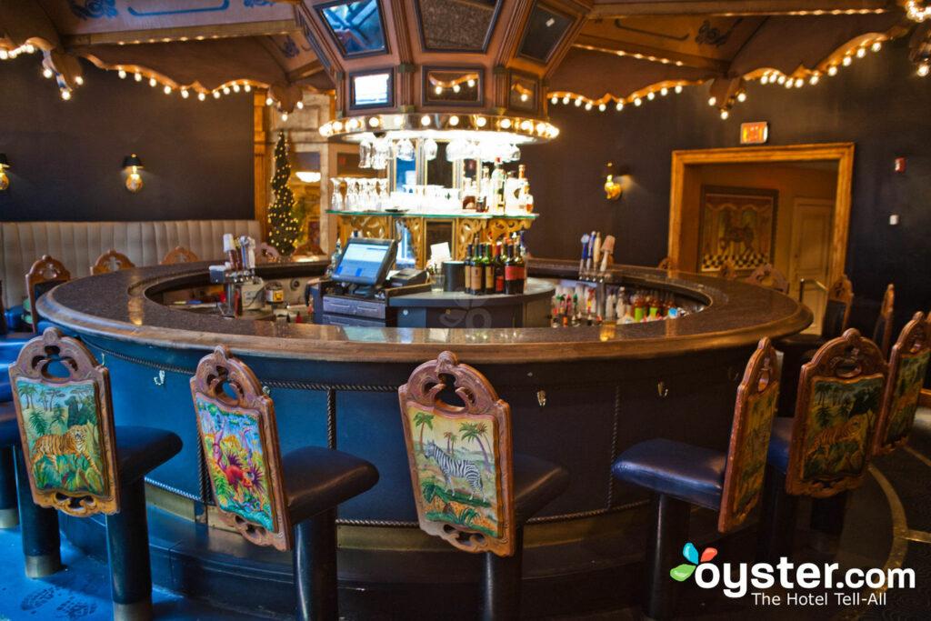 Bar do carrossel no Hotel Monteleone