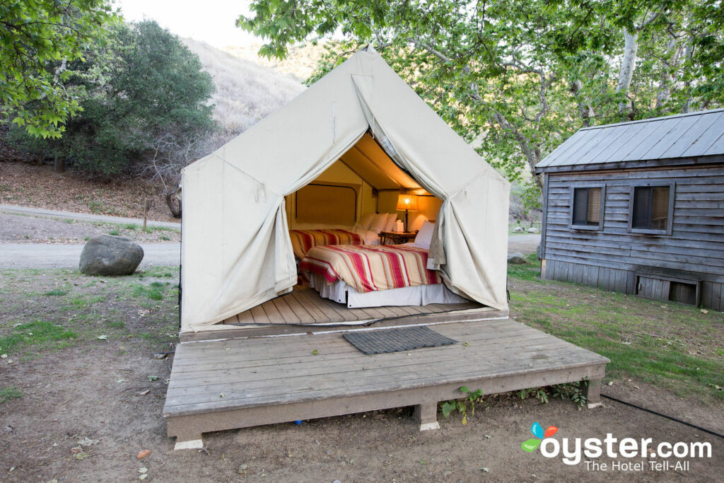 Even the most basic digs here are more luxe than Strayed's tent.