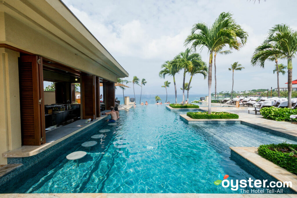Adults-Only Pool at the Four Seasons Resort Maui at Wailea