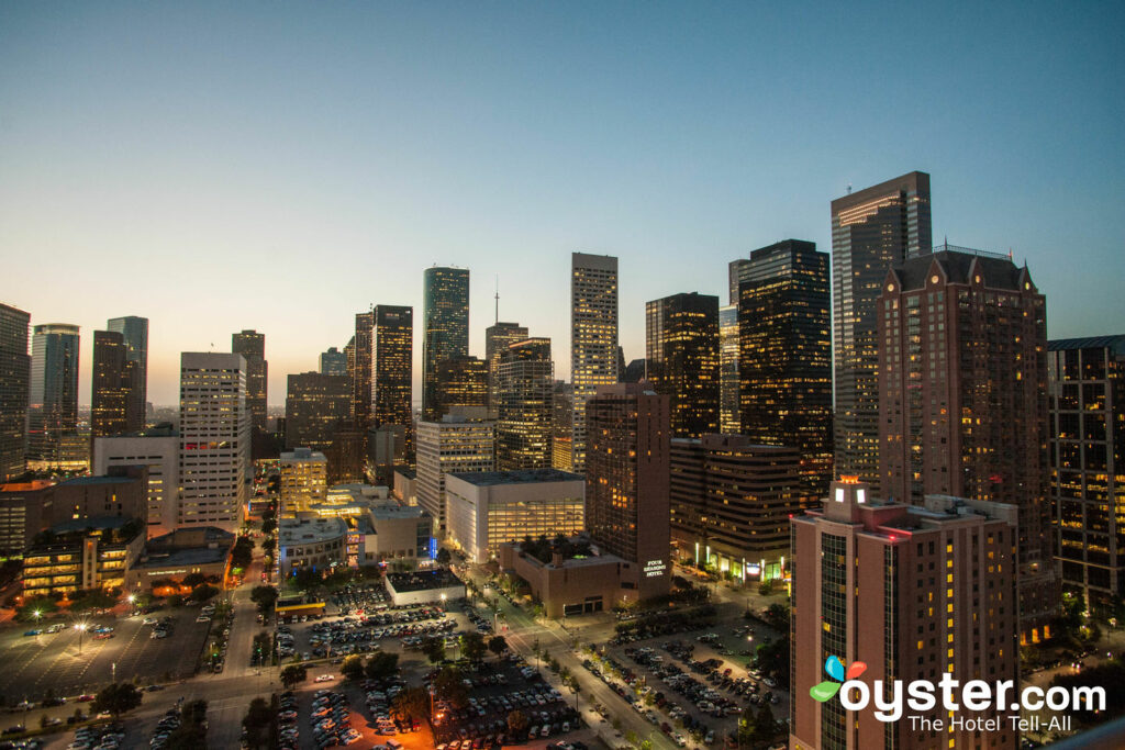 Skyline-Terrasse im Hilton Americas - Houston