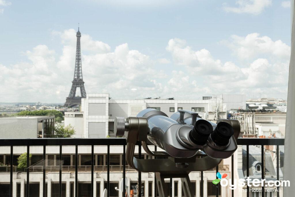 Die Eiffel Suite im Hotel Plaza Athenee / Oyster