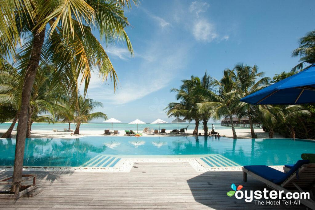 The Sunrise Pool at the Olhuveli Beach & Spa Resort