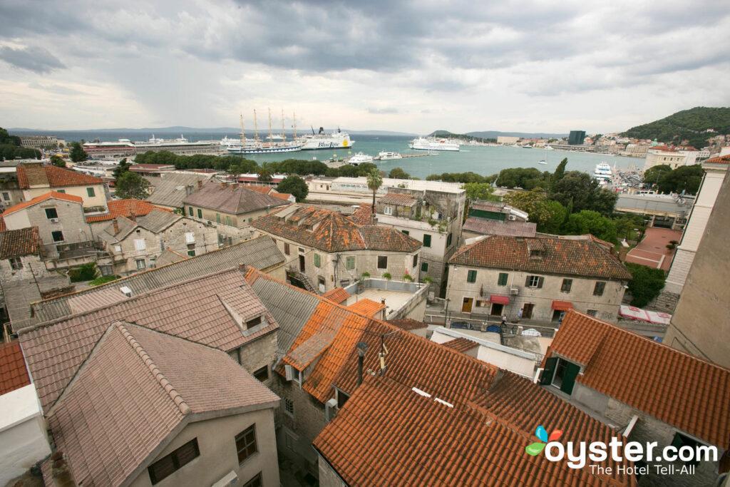 Vue de l'hôtel Luxe, Split / Oyster