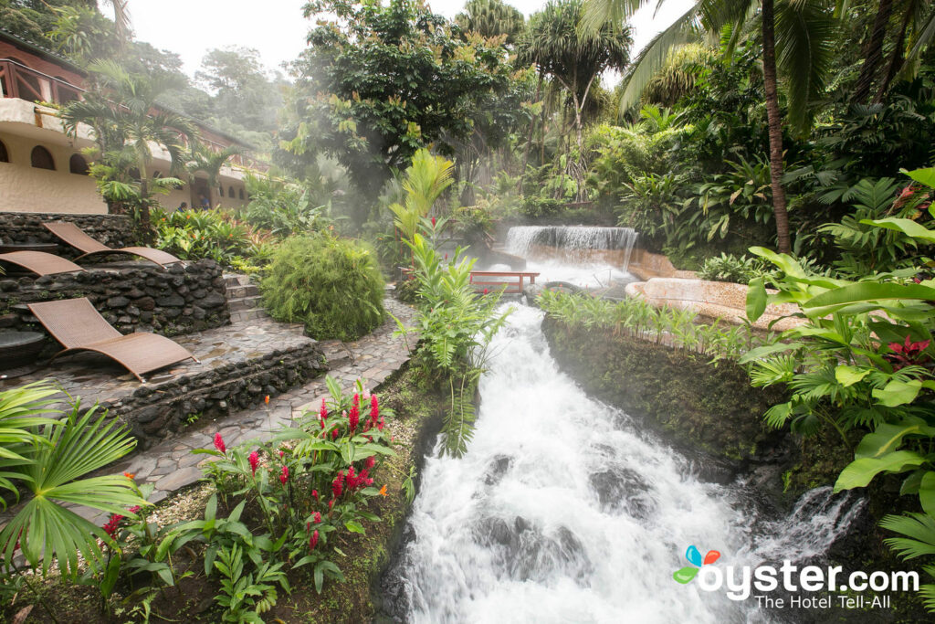 Tabacon Hot Springs no Resort Termal Tabacon Grand Spa