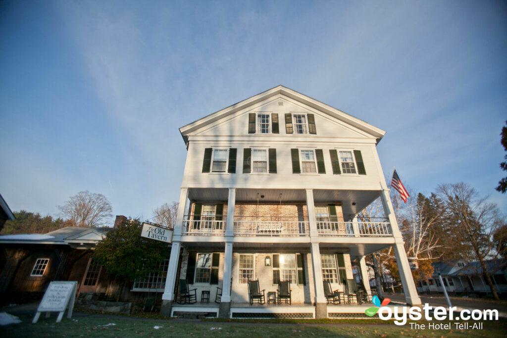 Grafton Inn hat das typische New England Aussehen.
