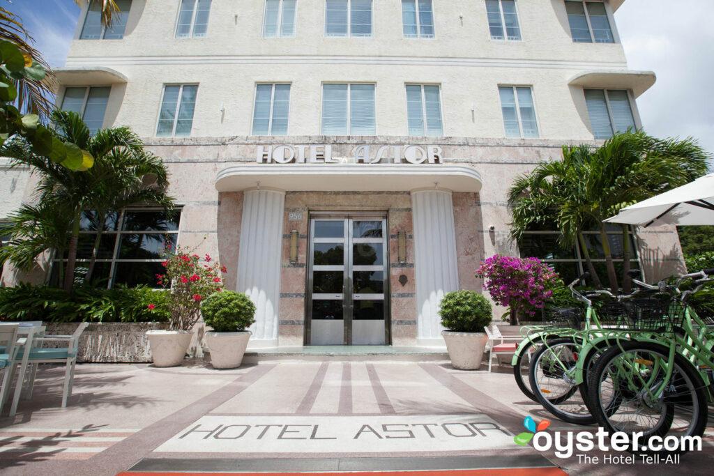 O charme Art Deco do Hotel Astor e suas bicicletas de cortesia para os hóspedes passearem por South Beach