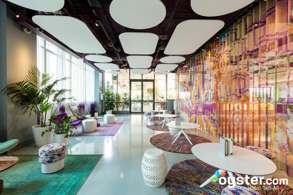 Terrace & Club Lounge at the YOTEL/Oyster
