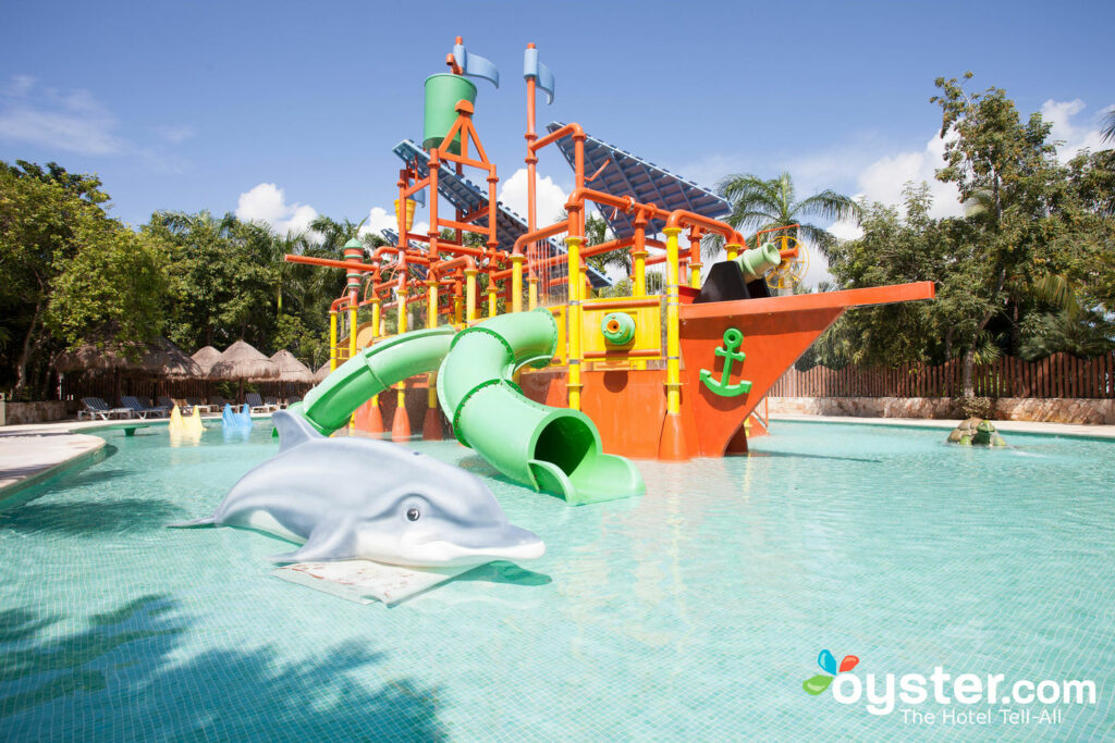Water park at Iberostar Selection Paraiso Lindo