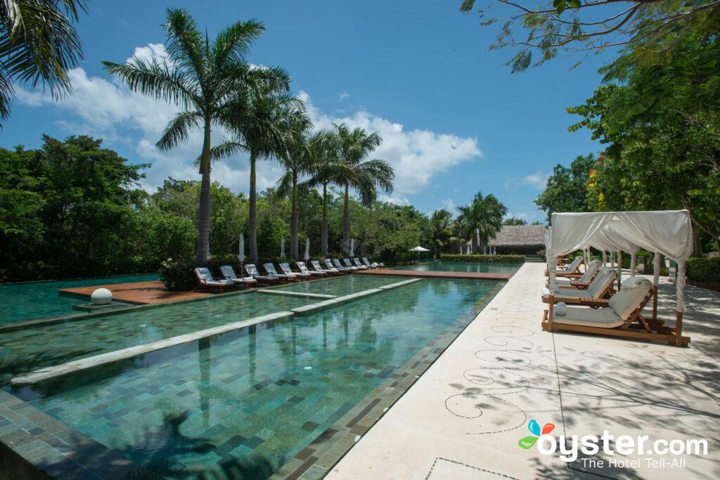 Der Zen Pool bei Grand Velas Riviera Maya / Oyster