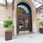 Entrance at Hotel Regina Barcelona