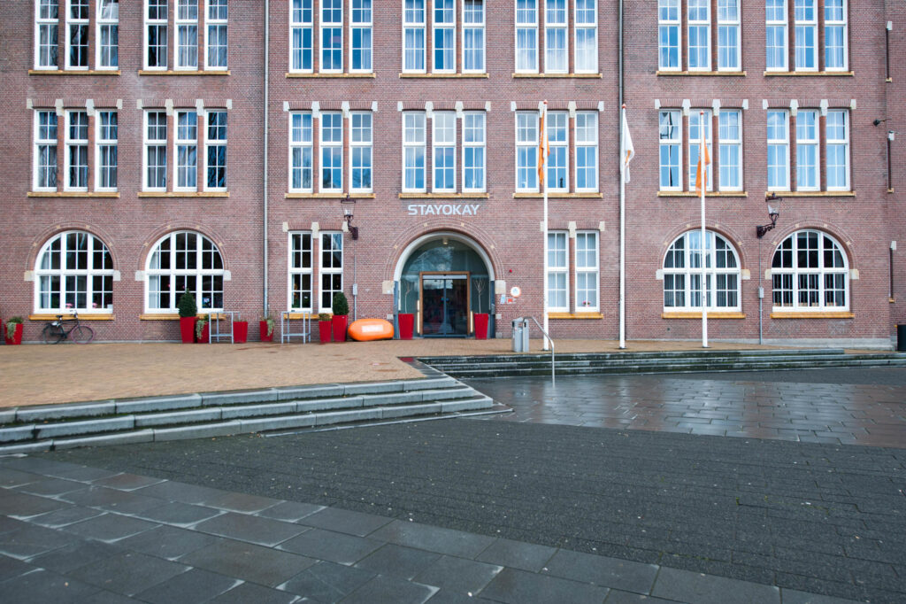 Exterior of Stayokay Amsterdam Oost