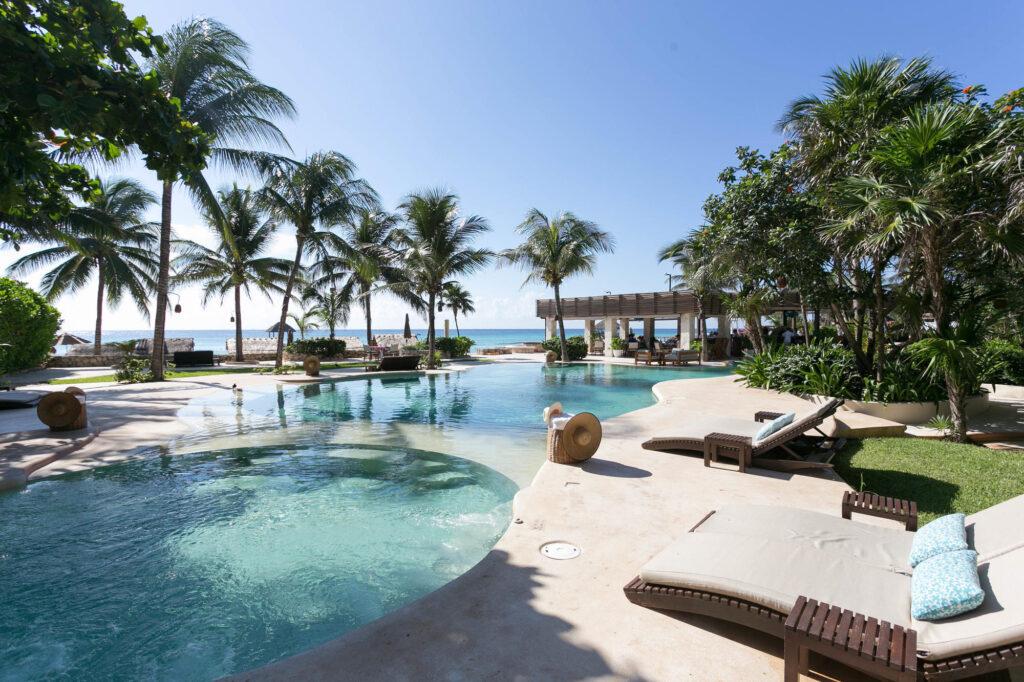 The Pool at the Viceroy Riviera Maya