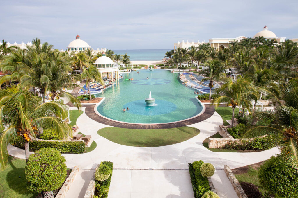 The Pool at the Iberostar Grand Hotel Paraiso