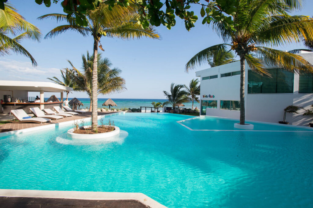 The Pool at the Le Reve Hotel & Spa