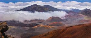 Top of Haleakala Crater
