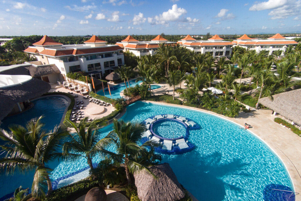 Aerial Photography at The Reserve at Paradisus Palma Real