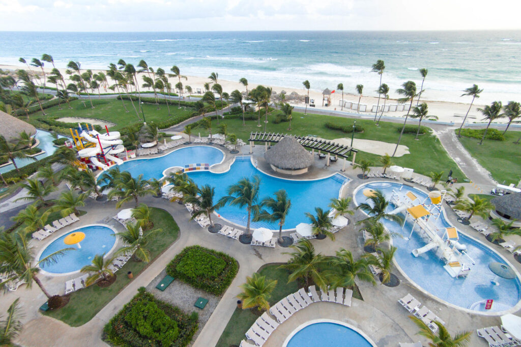 Aerial Photography at the Hard Rock Hotel & Casino Punta Cana