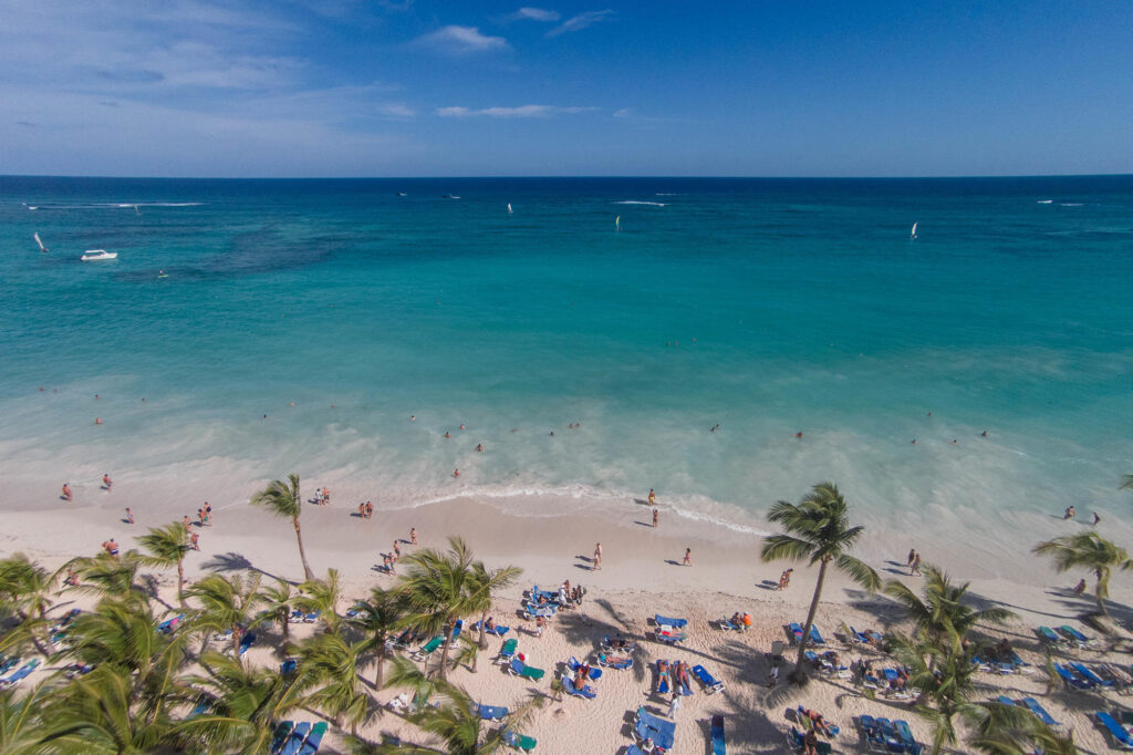 Aerial Photography at the Hotel Riu Palace Punta Cana