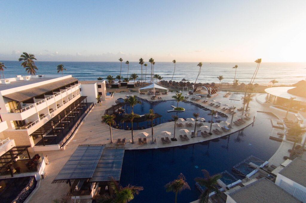 Aerial Photography at the CHIC by Royalton Luxury Resorts