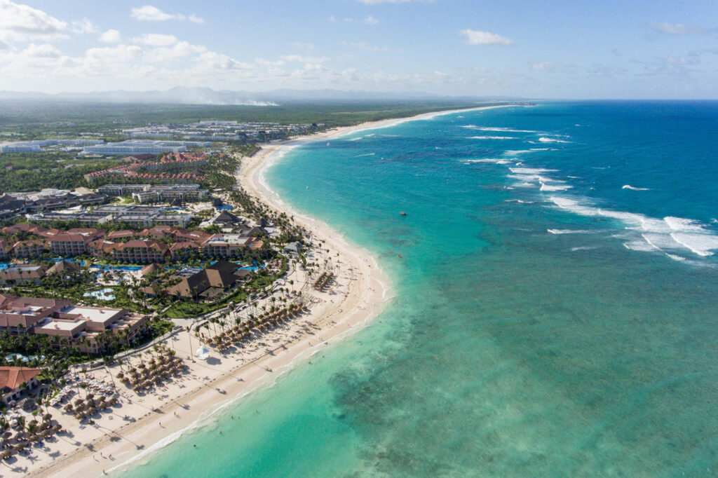 Aerial Photography at the Majestic Elegance Punta Cana